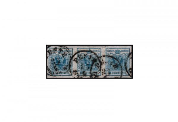 Österreich Kaiserreich Freimarke 1850 Michel Nr. 5 Xc gestempelt