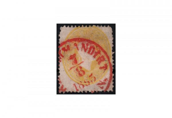 Österreich Kaiserreich Freimarke 1860 Michel Nr. 18 gestempelt