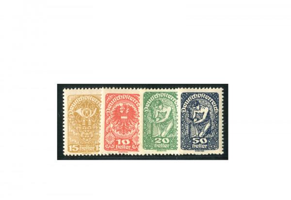 Briefmarken Österreich Freimarken 1919-1920 Michel-Nr. 260-271 y gestempelt