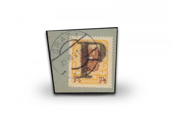 Briefmarke Österreich Grazer Eilprovisorium 1920/21