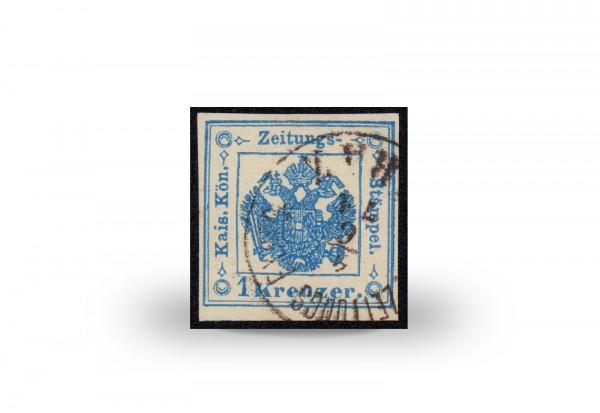 Briefmarke Österreich Zeitungsstempelmarke 1858-1859 Michel-Nr. 2 gestempelt