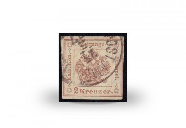Briefmarke Österreich Zeitungsstempelmarke 1858-1859 Michel-Nr. 3 gestempelt