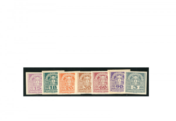 Briefmarken Österreich Freimarken 1919-1920 Michel-Nr. 301-311 y gestempelt