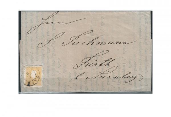 Österreich Mi.Nr. 10 II 2 Kreuzer Franz Joseph