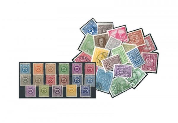 Alt-Österreich 100 verschiedene Ausgaben 1890/1938