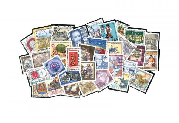 Österreich 500 verschiedene Sondermarken postfrisch und gestempelt