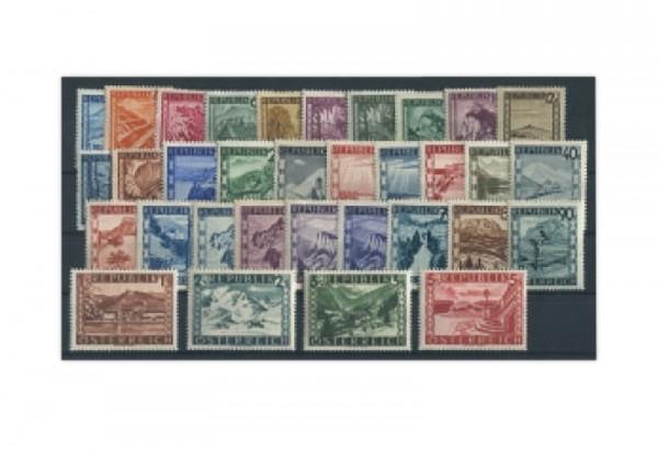 Österreich Frühausgaben Mi.Nr. 738/770 postfrisch