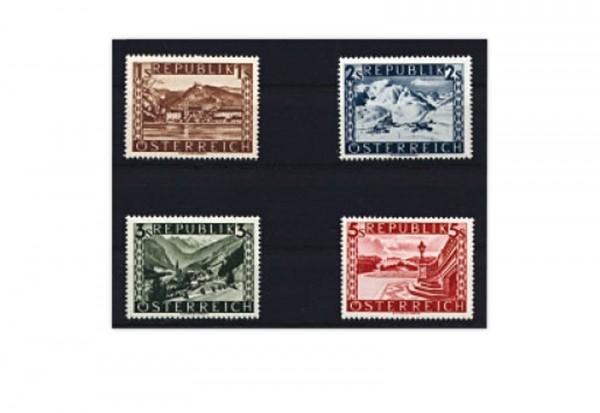 2. Republik Österreich Mi.Nr. 767 II/770 II postfrisch