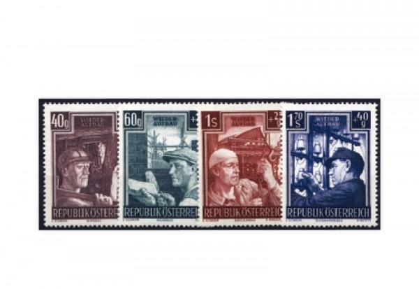 Österreich Frühausgabe Mi.Nr. 960/963 postfrisch