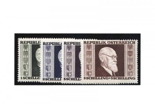 Österreich Frühausgaben Karl Renner Mi.Nr. 772/775 A postfrisch