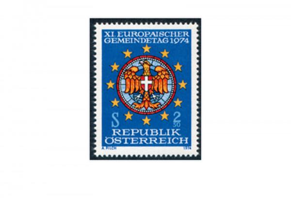 Österreich Mi.Nr. VIII ** Europäischer Gemeindetag 1974