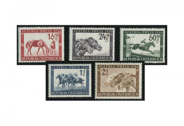 2. Republik Österreich Mi.Nr. 785/789 postfrisch