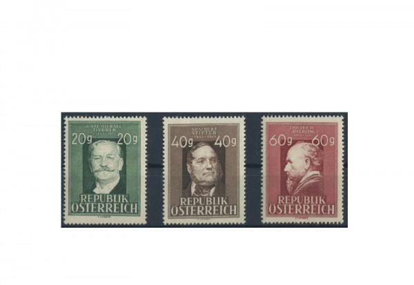 Österreich Frühausgaben Michel Nr. 855/7 postfrisch