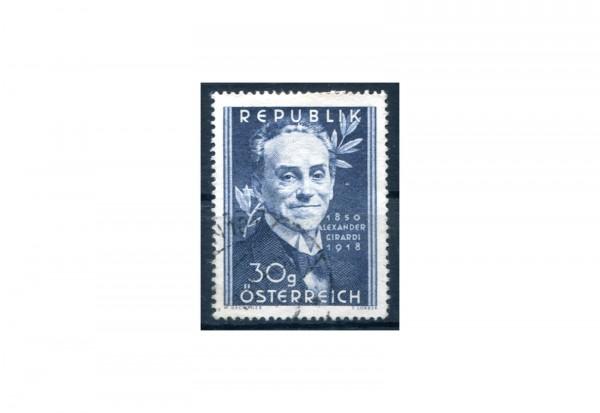 Österreich Einzelausgabe 1950 100. Geburtstag von Alexander Girardi Michel Nr. 958 postfrisch