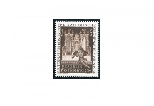 Österreich Einzelausgabe 1954 Internationaler Kongreß für katholische Kirchenmusik Michel Nr. 1008 p