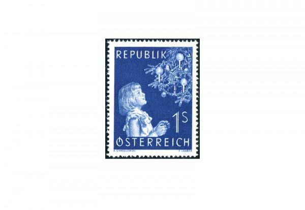 Österreich Einzelausgabe 1954 Weihnachten Michel Nr. 1009 postfrisch
