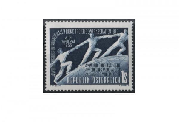 Briefmarke Österreich 1955 IBFG Michel Nr. 1018 postfrisch