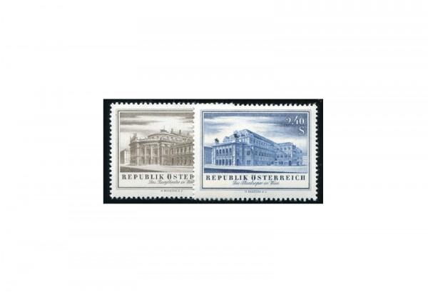 Österreich Wiedereröffnung Burgtheater 1954 Mi.Nr. 1020/1021 postfrisch