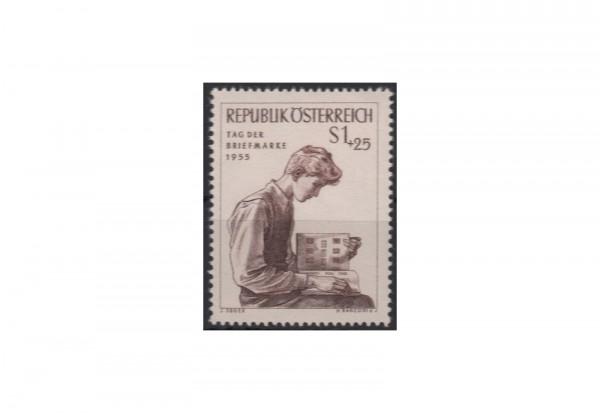 Briefmarke Österreich Einzelausgabe 1955 Tag der Briefmarke Michel-Nr. 1023 postfrisch