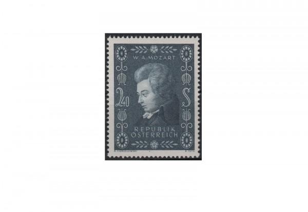 Österreich Einzelausgabe 1956 200. Geburtstag von Wolgang Amadeus Mozart Michel Nr. 1024 postfrisch