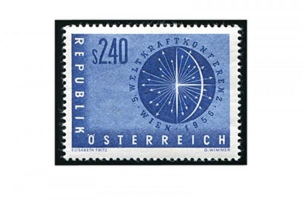 Österreich Weltkraftkonferenz 1956 Mi.Nr. 1026 **