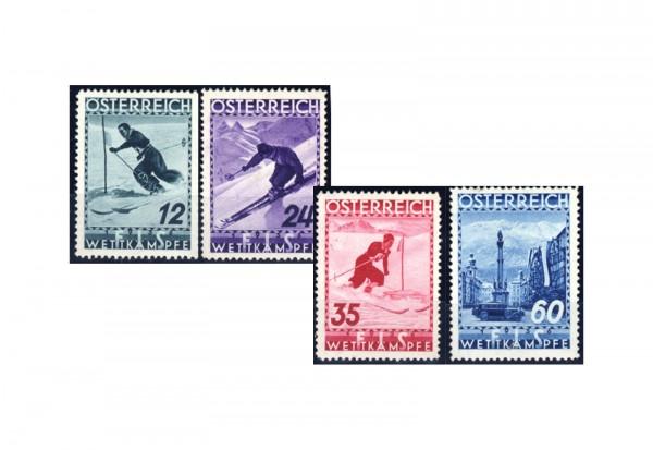 1. Republik Österreich Mi.Nr. 623/626 postfrisch