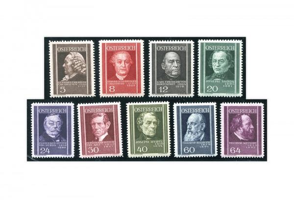 1. Republik Österreich Mi.Nr. 649-657 postfrisch