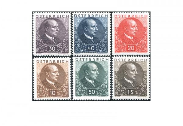 Österreich Freimarken 1930 Mi.Nr. 512/517 **