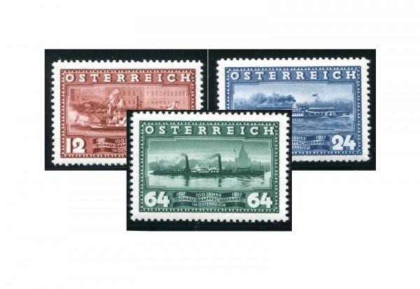 1. Republik Österreich Mi.Nr. 639/641 Falz