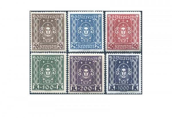 Österreich Michel Nr. 398-404 B ** Frauenkopf