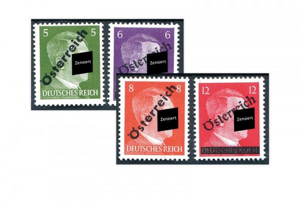 Briefmarken Österreich 1945 Wiener Aushilfsausgabe Michel-Nr. 660/3 postfrisch