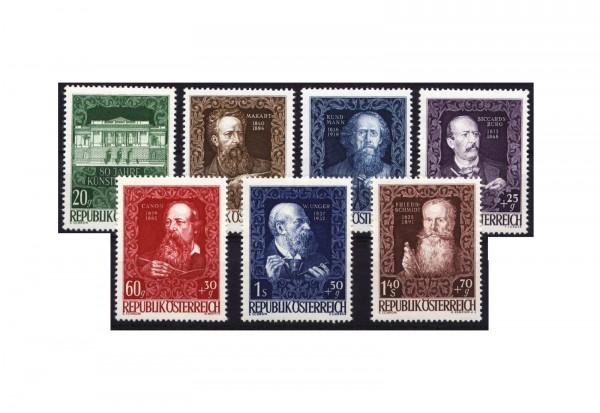 Briefmarken Österreich 1948 Michel Nr. 787/84 ER postfrisch