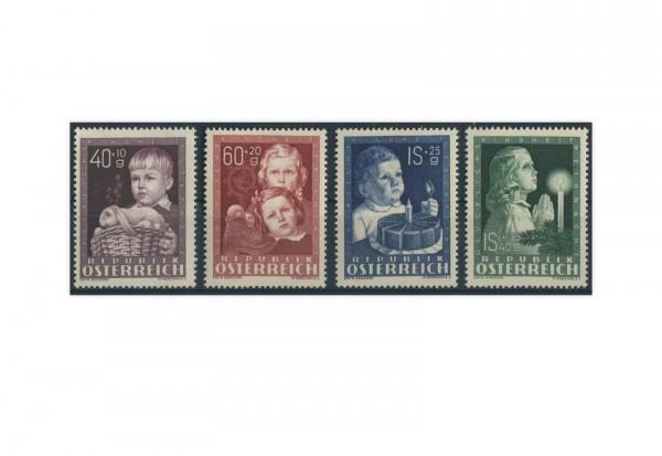 Briefmarken Österreich 1949 Michel Nr. 929/32 Kinderfürsorge postfrisch OR