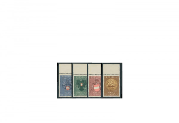 Briefmarke Österreich Kriegsgefangenen- und Heimkehrerfürsorge 1949 Michel-Nr. 937/40 postfrisch OR