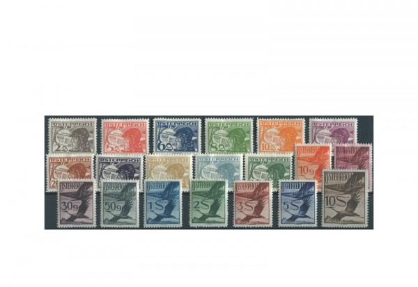 Österreich Michel Nr 468/87 Falz Flugpostmarken