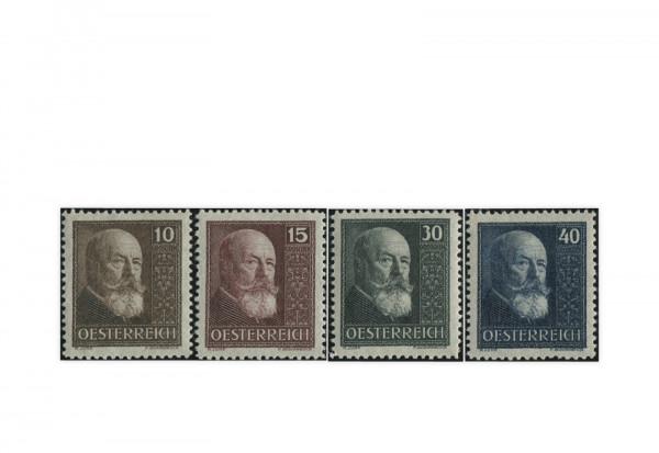 Österreich Mi.Nr. 494/497 Falz 10 Jahre Republik 1928
