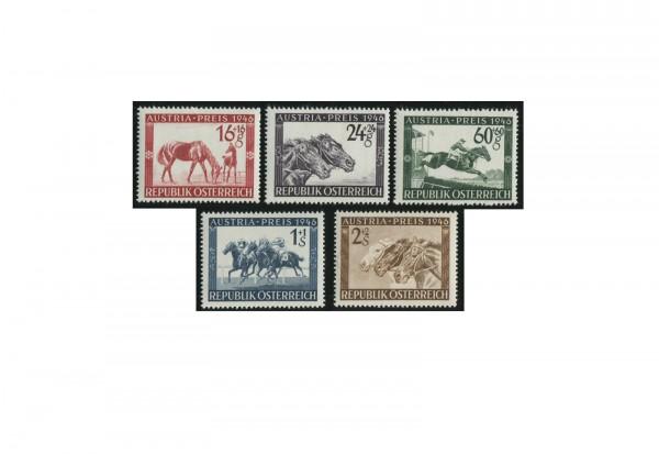 Österreich Pferderennen Mi.Nr. 785/789 Falz