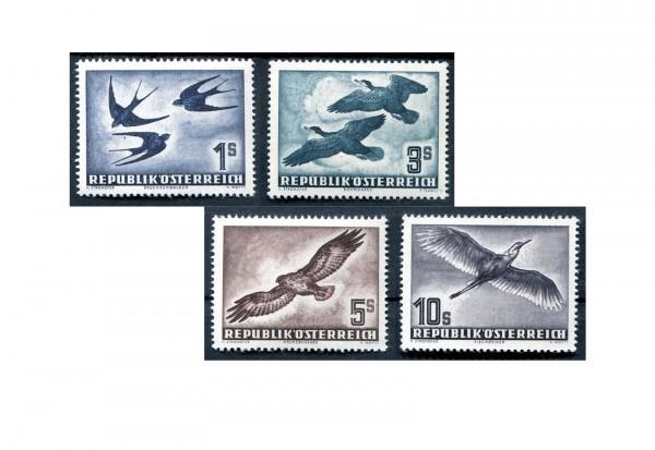 2. Republik Österreich Vögel 1953 Mi.Nr. 984/987 Falz