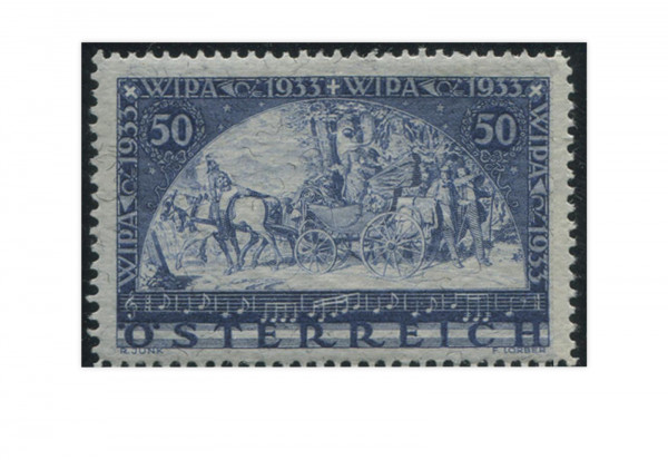 1. Republik Österreich WIPA 1933 Mi.Nr. 556 A Falz