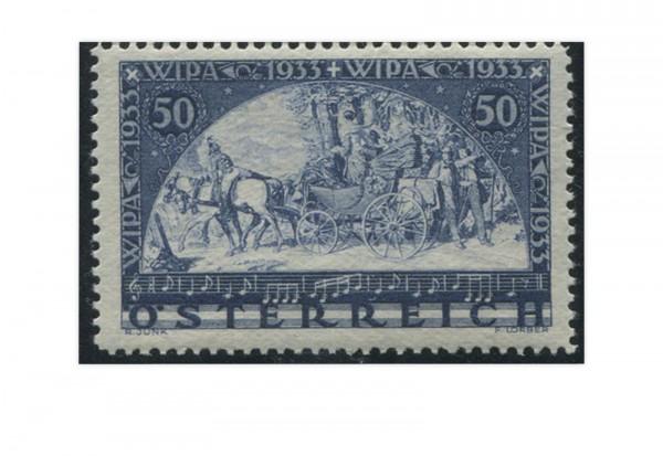 1. Republik Österreich WIPA 1933 Mi.Nr. 555 A Falz