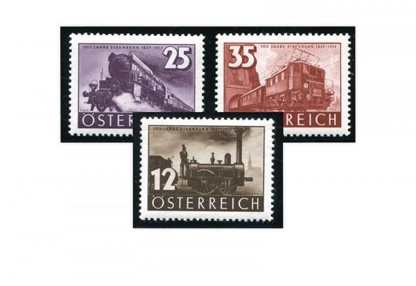 1. Republik Österreich Mi.Nr. 646/648 Falz