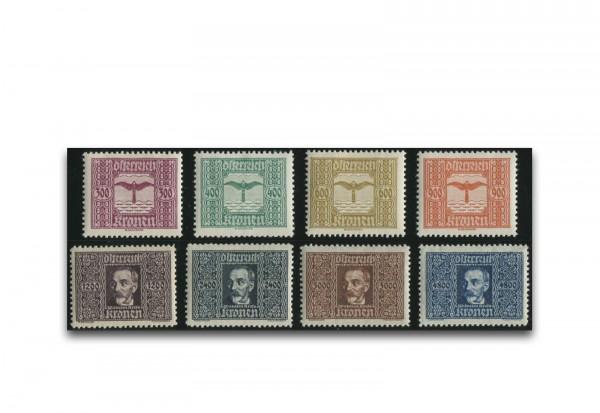 1. Republik Österreich 1922 Mi.Nr. 425/432 gestempelt
