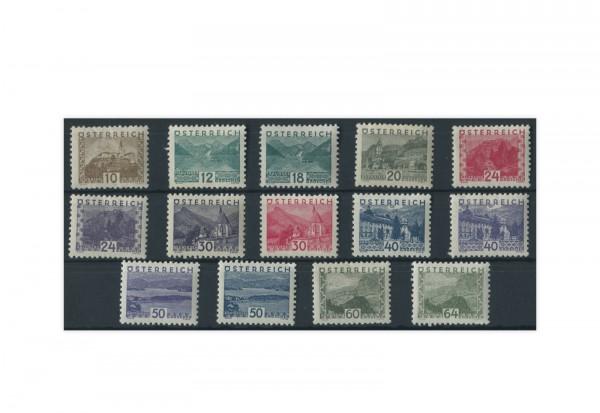 Österreich Mi.Nr. 530/543 gestempelt 14 Briefmarken