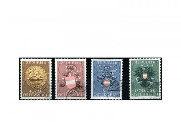 2. Republik Österreich Mi.Nr. 937/940 gestempelt