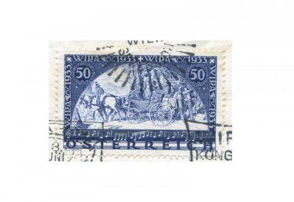 1. Republik Österreich Mi.Nr. 555 A gestempelt