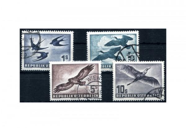 Österreich Vögel 1953 Michel Nr. 984/87 gest.