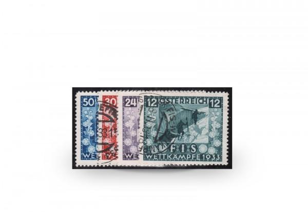 Österreich 1. Republik Michel-Nr. 551/554 gestempelt