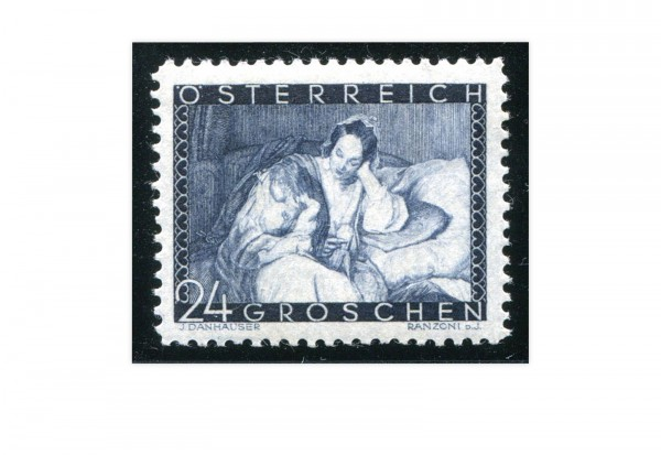 1.Republik Österreich Mi.Nr. 597 gestempelt