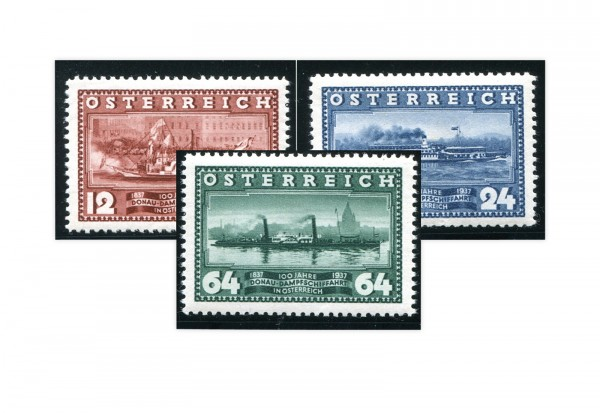 1. Republik Österreich Mi.Nr. 639/641 gestempelt