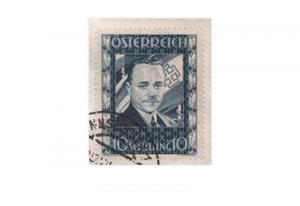 1. Republik Österreich Dollfuss-Marke 1936 Mi.Nr 588 gest. Gefälligkeitsstempel